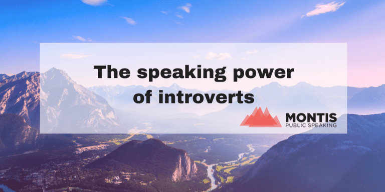 The Speaking Power of Introverts